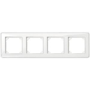 M-CreativAbdeckrahmen 4fach transparent/polarweiß M-Creativ