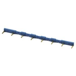Verbindungsbrücke 8-pol für Fassungen 93.03 / 95.05 blau 10A Serie 95