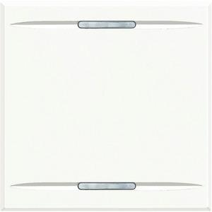 Wippe für Tastsensor mit 1 Funktion 2-modulig White