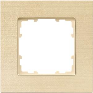1-fach Holz Rahmen DELTA miro Holzart buche 90x90mm