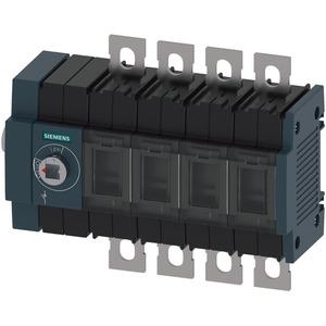 Lasttrennschalter 100A Baugr. 2 / 4-polig Seitenantrieb links