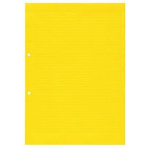 Klemmenmarkierer / Verbindermarkierer 27 x 6,3 mm Polyester A4 gelb