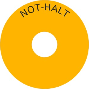 NOT-AUS Unterlegschild 3SB3921-0AC