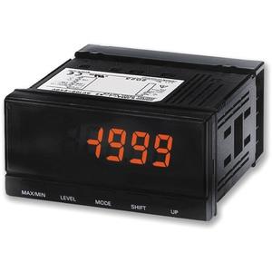 Prozess Anzeige 96x48mm 2 Ausgänge DC Spannung/Strom 100-240V AC