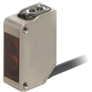 Optischer Sensor Reflexionslichttaster Metallgehäuse IP69K 1m PNP-Aus.