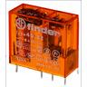Steck- Printrelais Raster 5 mm 2 Wechsler 8A Spule 230V AC Serie 40