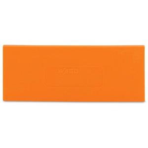 Trennwand 2 mm stark überstehend orange