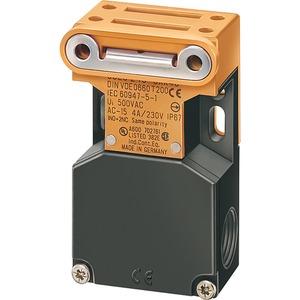 Sicherheits-Pos.-schalter mit getrenntem Betätiger seitl. und stirnsei