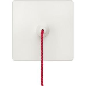 Wippe I-System titanweiß mit Zugbetätigung für Taster