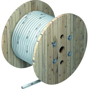 Isolierte Ableitung 25 m Rolle ø 26mm lichtgrau