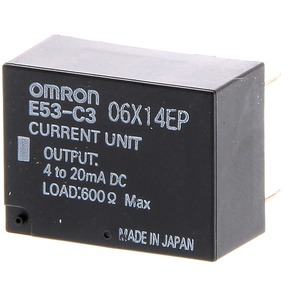 Ausgangsmodul für E5A/E Stetig 4-20 mA 600 Ohm 12 Bits