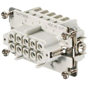Einsatz HDC Buchse 500 V 16 A HE 10 FT