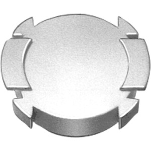 """Unterlegschild 75mm mit """"NOT-HALT"""""""