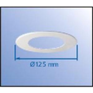 ThermoX Dekorblenden weiss Außen- Ø 125 mm Öffnungsmaß Ø 68 / 75 mm