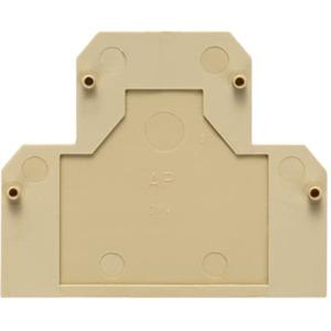 Abschlussplatte für Direktmontage SAK-Reihe 1.5 mm blau