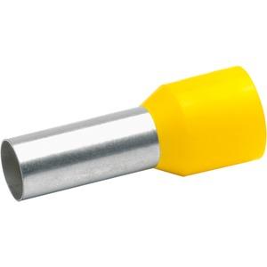 Isolierte Aderendhülse DIN 46228 Teil 4 halogenfrei gelb
