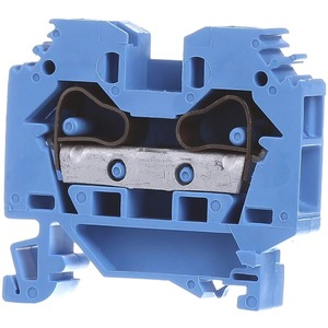 2-Leiter-Durchgangsklemme 0,2 - 10 mm² blau