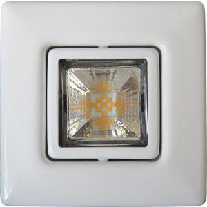 LED Einbaustrahler A 5068 T Flat RQ ni-geb. 7W 3000K 60° inkl. Treiber