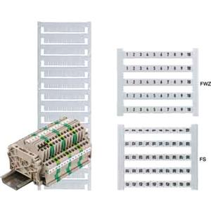 Klemmenmarkierer / Verbindermarkierer 5 x 5 mm Polyamid Nr. 15
