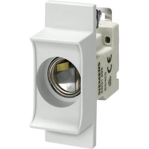 NEOZED-Einbausicherungssockel mit ISO-Einzelabdeckung D01/16A 1pol.