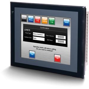 HMI - Terminal 10,4 Zoll TFT 256 Farben 2 x RS-232C 60 MB-Anwenderspeicher schwarz
