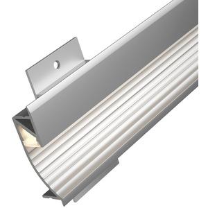 Function Cup Profil Diffusor 100cm Alu eloxiert/Satin Alu/Kunststoff