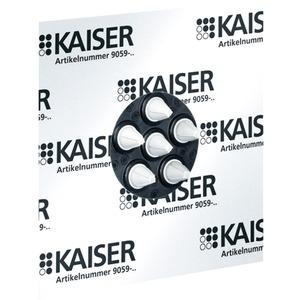 Mehrfach-Luftdichtungsmanschette ECON für 1 - 6 Leitungen bis Ø 11 mm