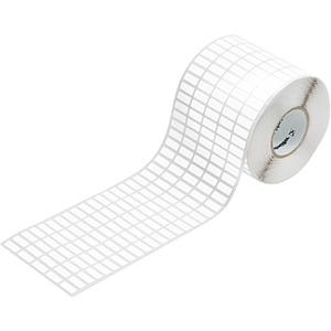 Gerätemarkierer / Etikett 65 x 35 mm Polyesterfilm weiß