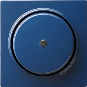 Abdeckung Schnurableitung+VDO für S-Color blau