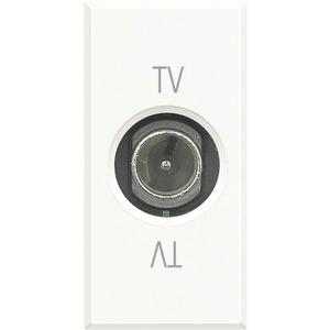 TV-Durchgangsdose 9,5 mm Durchmesser männlich 1-modulig