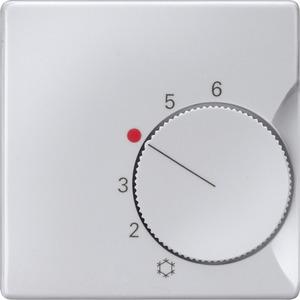 Abdeckung I-System aluminium für Raumtemperaturr. Öffner/Wechsler