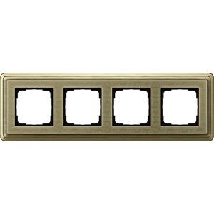 4-fach Abdeckrahmen für ClassiX Art Bronze