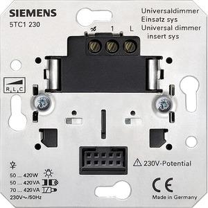 Universaldimmer-Einsatz SYS UP 50-420VA 230V 5TC1230