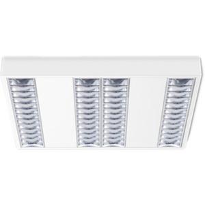LED Raster-Aufbauleuchte SONIS A 4x11,5W 4000K 3.868lm DALI