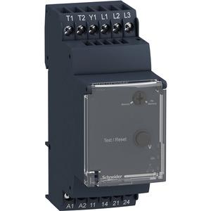 Phasenüberwachungsrelais 3PH.2S PTCTEST RM35TM250MW