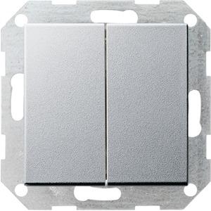Tastschalter Wechsel Wechsel System 55 Aluminium