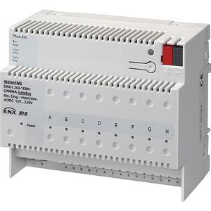 KNX Binäreingabegerät für 12-230V AC/DC 8-fach REG