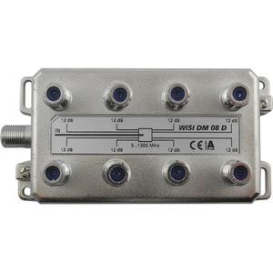 8-fach F-Verteiler 5-1300 MHz