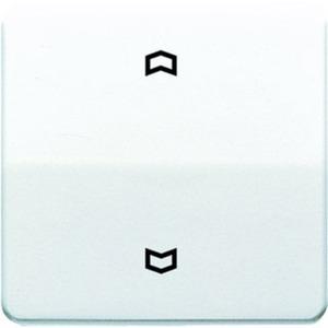 Wippe Symbole Pfeile für Taster BA 1-fach Mittenstellung weiß