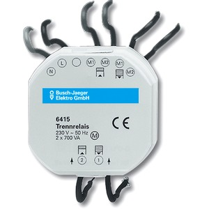 EB-Geräte Jalousiecontrol -Trennrelais 2-fach