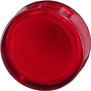 Leuchtvorsatz rot Kalotte beschriftbar