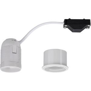 Adapterhülse für Einbauleuchten E27 Fassung max 1x10W 230V Weiß