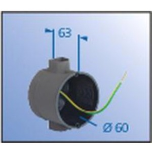 Unterputz Geräte-Verbindungsdose abgeschirmt