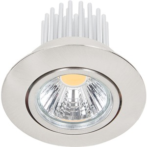 LED Downlight schwenkbar A 5068 S nickel-gebürstet