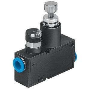 Druckregelventil QS4 mit Manometer 8 bar - 50 l/min