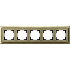 5-fach Abdeckrahmen für ClassiX Art Bronze