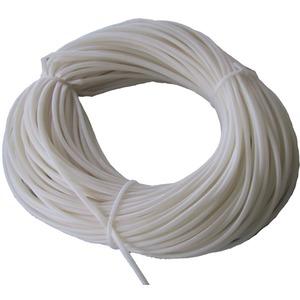 Silikon Isolierschlauch 3,5 x 0,4 mm bis 180 Grad naturfarben
