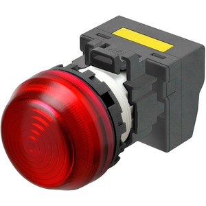 Leuchtmelder M22N Kunststoff sphärisch Rot 220/230/240V AC Push-In