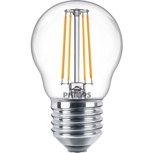 LED-Tropfenlampe Classic LEDluster 4,3-40W 470lm E27 827 P45 klar