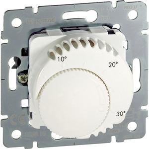 Einsatz Raumthermostat Standard Wechslerkontakt ultraweiß/ emailweiß